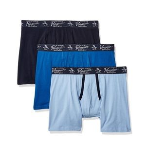 "Original Penguin 3 Pack Knit Boxer Brief M 32"" 34"""